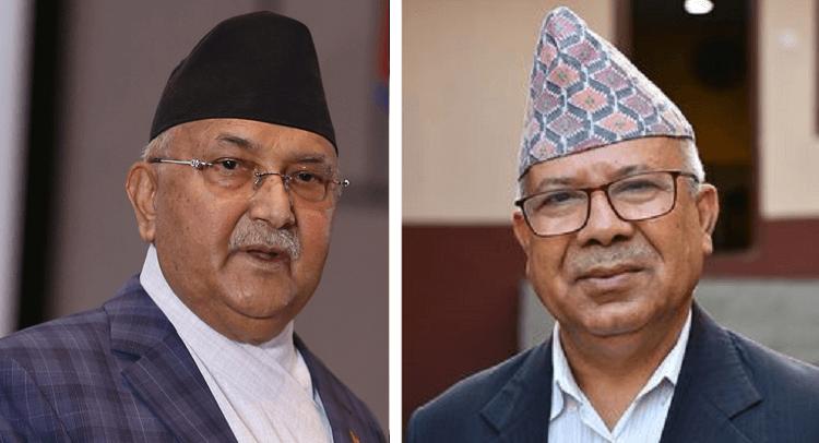 पार्टी एकता जोगाउन माधव नेपालद्वारा ओलीलाई ६ बुंदे प्रस्ताव, सुनुवाइ नभए राजीनामा